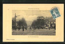 CPA Neuilly-sur-Seine, La Porte-Maillot - Neuilly Sur Seine