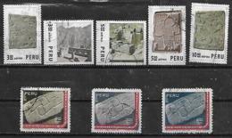 1971 Peru Arqueologia 8v. - Archéologie