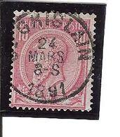 N° 46 . OBL.CENTRALE ST GHISLAIN LOT E108 - 1884-1891 Léopold II