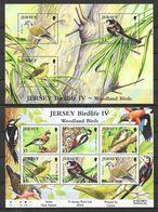 Jersey 2010 MiNr. Block 82 - 83 Forest Woodland Birds Birds IV  2 S/sh MNH**  13,00 € - Jersey