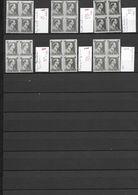 480  XXX  -  X1  VARIETES  -  BL4   X 6 - Errors And Oddities