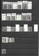 480 -  571  XXX  -  X1  VARIETES - Errors And Oddities