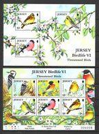 Jersey 2012 MiNr. Block 101 - 102 Threatened Birds Birds VI  2 S/sh MNH**  16,00 € - Jersey