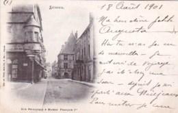 70 - LUXEUIL LES BAINS -  Rue Principale Et Maison Francois 1er - Luxeuil Les Bains