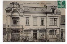 71 - PARAY Le MONIAL - Théâtre Sauvageot - 1910 (I95) - Paray Le Monial