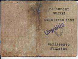PASSEPORT SUISSE 1946 - Documents Historiques