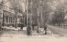 47) AGEN - LE CAFE ET LE COIN DE BELGIQUE  - (ANIMEE - 2 SCANS) - Agen
