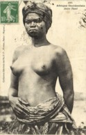Afrique Occidentale Jeune Fanti  Seins Nus  Fortier RV Timbbres Cachets - Africa Del Sur, Del Este, Del Oeste