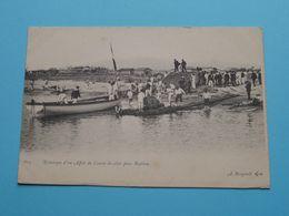 Remorque D'un Affut De Canon De Côtes Pour Bastion ( 604 - A. Bougault ) Anno 19?? ( See / Voir Photo ) ! - Krieg