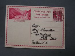 CH Bildkarte 1930 - Stamped Stationery