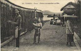 TONKIN  Doson Pecheurs Raccomodant Ses Filets RV - Viêt-Nam