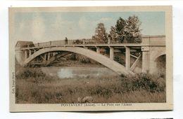 CPA  02  :   PONTAVERT   Le Pont    A   VOIR  !!! - France