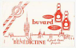 Buvard 22.4 X 14 BENEDICTINE La Grande Liqueur Française - Liqueur & Bière