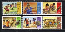 Tokelau 1983 QE2 Set Of 6 Traditional Pastime Umm SG 97 - 102 ( J85 ) - Tokelau