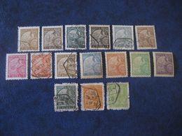 MACAU 1934 Yvert 276/8 280/3 285 292/6 + 1942 278a 289/90a (12 Canc Cat Year 2008: 372,25 Eur) Macao Portugal China Area - Macao