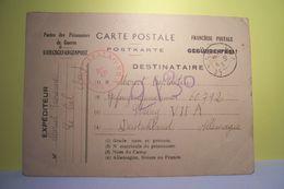 MILITARIA :  POSTES  Des PRISONNIERS De GUERRE - FRANCHISE POSTALE -  STALAG - Année 1940 - Weltkrieg 1939-45