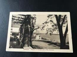 BANDOL Pergola Et Terrasse De La Villa Corniche - 1931 Timbrée - Bandol