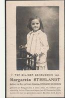 Brugge, 1930, Margareta Steelandt, De Coninck - Images Religieuses