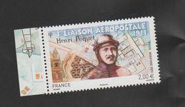 FRANCE / 2011 / Y&T PA N° 74a ** : Henri Péquet (du Feuillet De 10 TP) X 1 BdF G - 1960-.... Nuovi