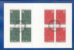Carnet Croix Rouge  Année  1973     Oblitérés - Markenheftchen