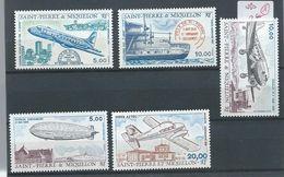 5 Timbre St Pierre Et Miquelon       Neufs - Unused Stamps