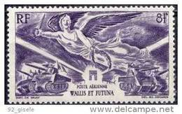 "Wallis Aerien YT 4 (PA) "" AnniversaireVictoire "" 1946 Neuf** - Poste Aérienne"