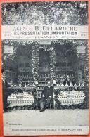 Foire Exposition De BESANCON 1923 - Agence B. Delaroche Représentation De Spiritueux & Liqueur Du Père Kermann - Besancon