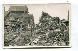 Carte Photo 62 : BERCK  Ruines Guerre 39-45   Rue De La Mer     VOIR  DESCRIPTIF §§§§ - Berck