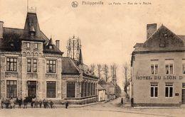 Philippeville - La Poste - Rue De La Roche  (Feldpost Septembre 1914) - Philippeville