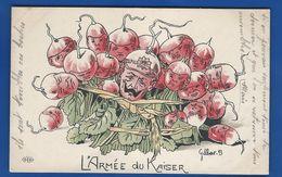 Carte Humoristique Guerre 1914/18        L'Armée Du Kaiser    écrite En 1915 - Humor