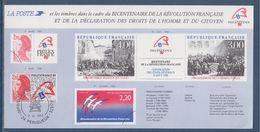 Carte De Présentation Timbres Bicentenaire De La Révolution, Le N° 2524 Périgueux 3.VI.1988 Philexfrance89 - Frankrijk