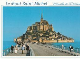 MONT SAINT MICHEL (50) La Nouvelle Digue - Le Mont Saint Michel