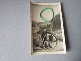 Photo  Carte Originale Scout Patro Saint Sixte De Genval Dans Un Gite D'étape Avec Curė - Non Classés