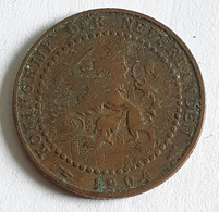 Netherlands 1 Cent 1904 - [ 3] 1815-… : Royaume Des Pays-Bas