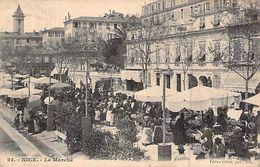 CPA 06] Alpes Maritimes > Nice > Marchés, Fêtes Il Y A 116 Ans Le Marché Carte Animée - Mercati, Feste