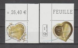"""FRANCE / 2019 / Y&T N° 5292/5293 ** : """"Cœurs Boucheron"""" Gommés (2 TP) 1 Paire Tous CdF - Neufs"""
