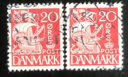 Danmark - D1/14 - 1937 - (°)used - Zeilschip - 1913-47 (Christian X)