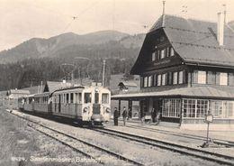 BVA - Saanenmöser Gare Bahnhof - Montreux Oberland Bernois MOB M.O.B Ligne De Chemin De Fer Train - BE Berne