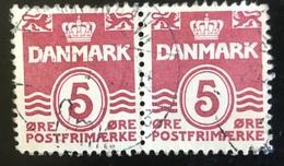 Danmark - D1/14 - 1938 - (°)used -  Cijfer 'Golf-type' - 1913-47 (Christian X)