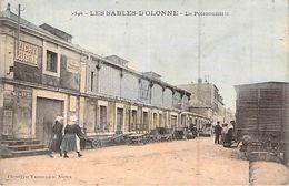 CPA 85] Vendée > Sables D'Olonne Lapoissonnerie Le Wagon Carte Animée - Sables D'Olonne