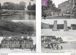 Lot De 55 Cartes Postales Anciennes Avec Des Animées. - Cartes Postales