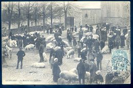 Cpa Du 22 Guingamp Le Marché Aux Cochons    AVR20-94 - Guingamp