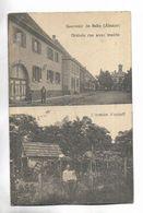 67 - Souvenir De SELTZ ( Alsace ) - Double Vue - 1° Grande Rue Avec Mairie - 2° L' Ermite Marzolf - France