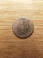COIN MONNAIE HAITI ARGENT PETION 25 CENTIMES AN 14 1817 - Haiti