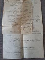 Service Des Décorations - Medaille Militaire Posthume - Croix De Guerre - Soldat Tombé à Roncourt En 1916 .. Lot140 . - Francia