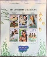 Micronesia 1997 Pacific'97 Sea Goddesses Fish Sheetlet MNH - Micronésie