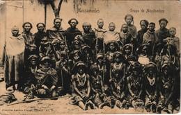 Postcard Luanda Mossamedes Mondombos - Typen Angola 1899 - Angola