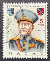 MAC5425U - Centenary Of Marshal Carmona's Birth 5 Avos Used Stamp - Macau 1970 - Macao
