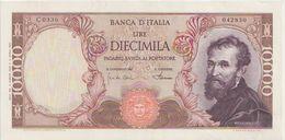 ITALY  P. 97d 10000 L 1968 XF - 10000 Lire