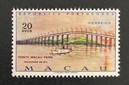 MAC5435MNH - Macau-Taipa Bridge 20 Avos MNH Stamp - Macau 1974 - Ungebraucht